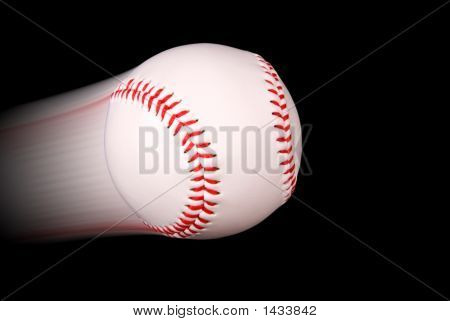 Baseball In Flight