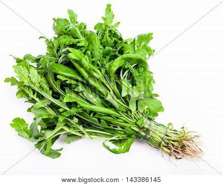 Bunch Of Fresh Cut Green Salad Rocket Herb
