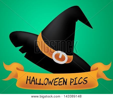 Halloween Pics Of Trick Or Treat 3D Illustration