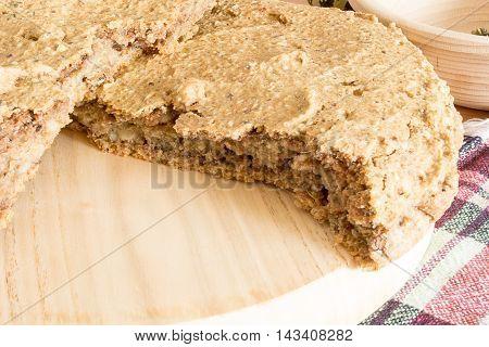 Domestic Unleavened Barley Bread