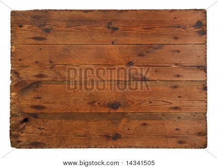 Old, grungy wooden board