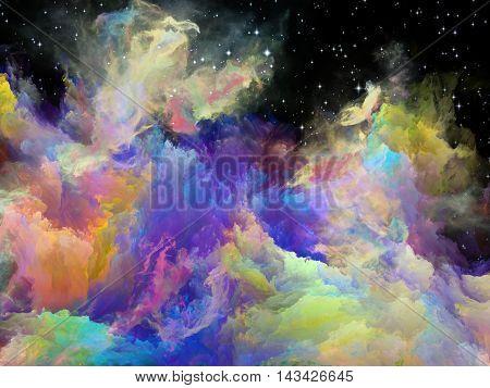 Accidental Space Nebula
