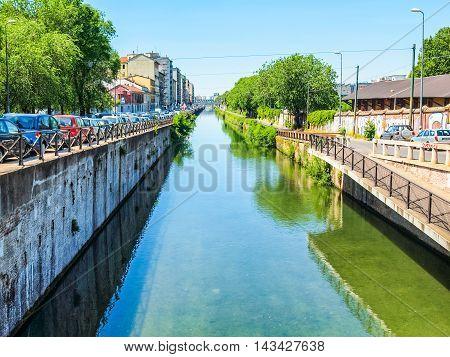 Naviglio Grande, Milan Hdr