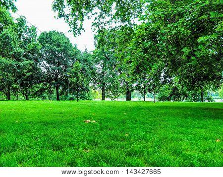 Kensington Gardens London Hdr