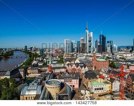 Frankfurt Am Main, Germany Hdr