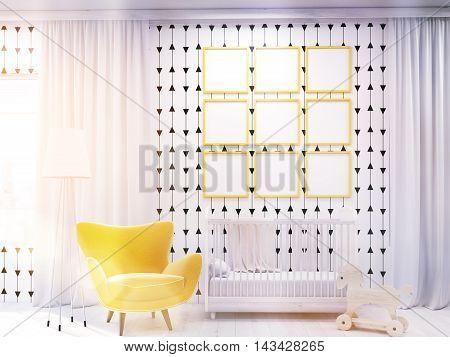 Preschooler's Room Interior