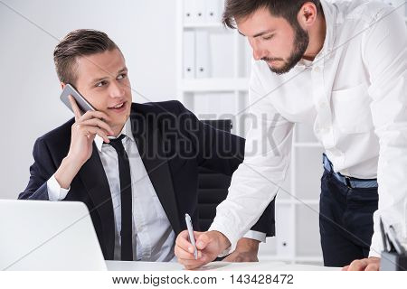 Successful Business Employees