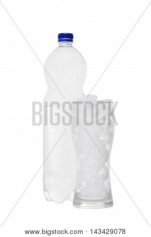 Bottle Of Soda Isolated On A White Background