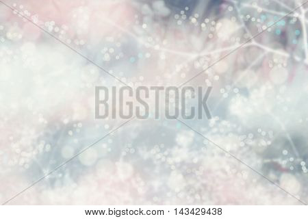 Christmas holiday celebration bokeh background, blur lights