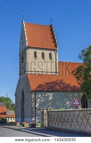Great Church In The Historical Center Of Steinfurt