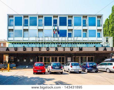 Rai Auditorium In Turin (hdr)