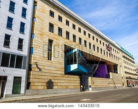 British Embassy, Berlin (hdr)