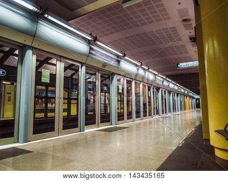 Turin Metro Station (hdr)