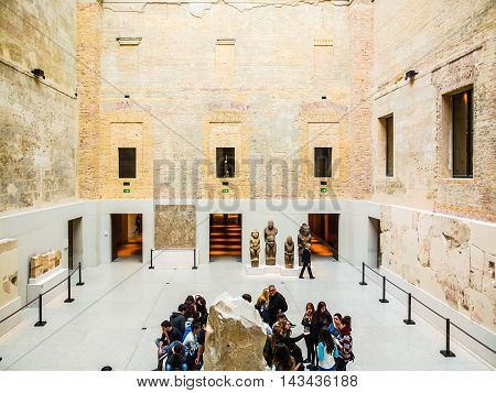 Neues Museum In Berlin (hdr)