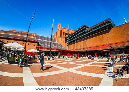 British Library In London (hdr)