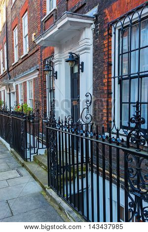 Historical Buildings In Kensington, London