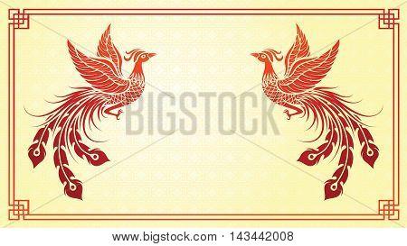 Chinese Phoenix Template