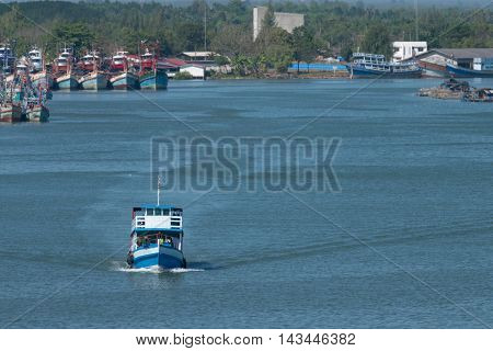 Fishing Boat Is Out Fishing
