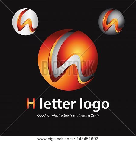 3d h letter logo 100% vector fully editable and resizable suitable for which letter is begining with letter j