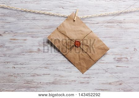 Envelopes on rope