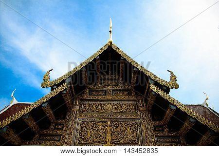 Wat Phra That Sri Chom Thong, Chiangmai Province, Thailand.