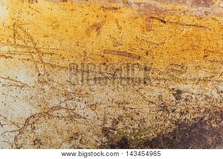 Obsolete grunge surface texture with scratches and stains