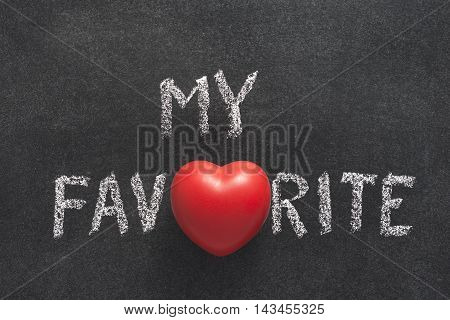 My Favorite Heart