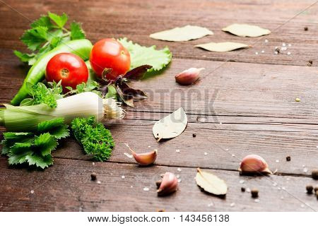 Vegetable On The Table