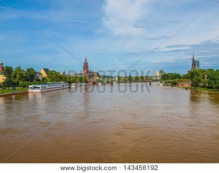 Frankfurt Germany Hdr