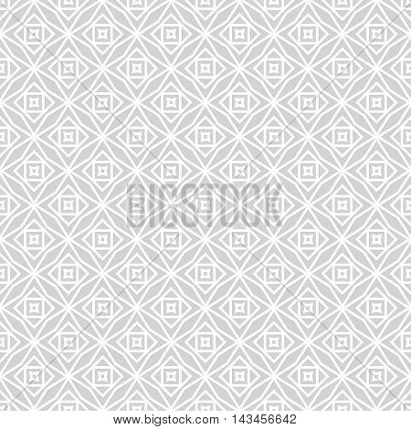 Seamless pattern. Stylish modern geometrical texture. Regularly repeating rhombuses stars polygons. Vector abstract seamless background. Contemporary design