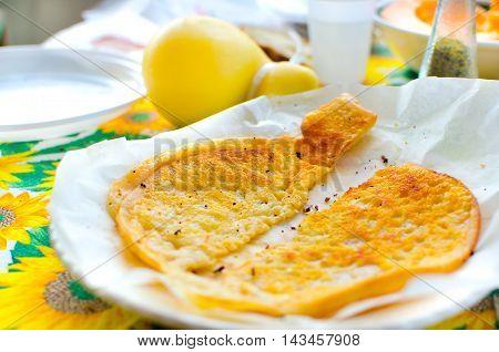 roasted cheese caciocavallo apulia traditional products italy