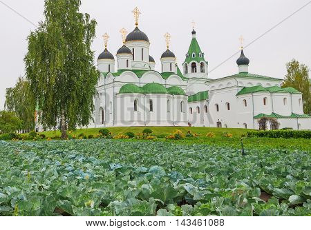 Spaso-Preobrazhensky monastery in the ancient Russian city of Murom