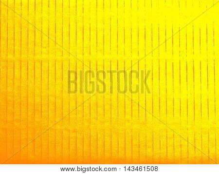 Cardboard texture background paper yellow and gold background for background/wallpaper/art work/design corrugated cardboard texture.