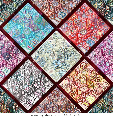 abstract geometric seamless pattern grunge texture vector illustration abstract high quality