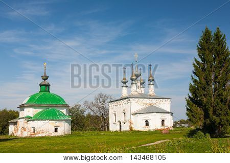 Church of Jesus' triumphal entry into Jerusalem Suzdal Russia