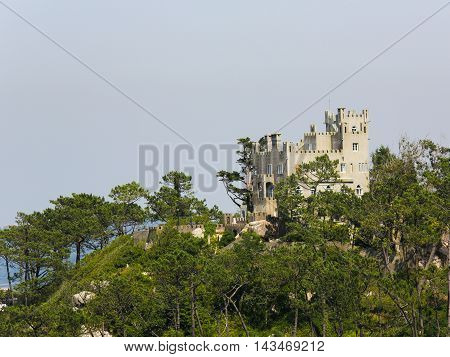 Romanticist Castle In Sintra, Portugal