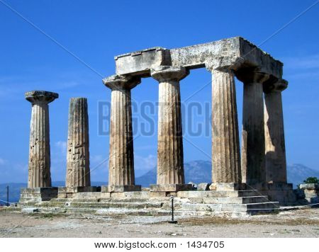 Ancient Corinth Temple