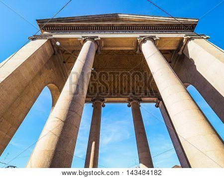 Porta Ticinese In Milan Hdr