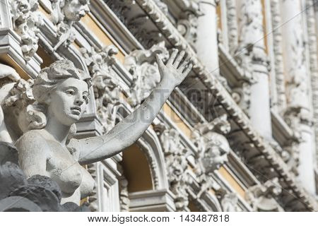 Odessa, Ukraine - August 02, 2016: Passage Is The Historical Building And The First Luxury Shopping