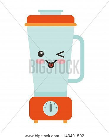 blender character isolated icon vector illustration design kawaii