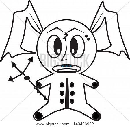 Angel of Death Vector Illustrator for icon or other