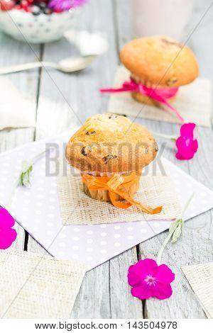 Summer Garden Muffins Fruit Cocktail