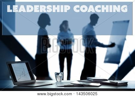 Leadership coaching concept