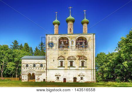 Boris Gleb Monastery Belfry Village Borisoglebsk Rostov Yaroslavl Oblast Russia