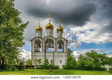 Nicholas Convent Belfry  Cathedral Russia Pereslavl Zaleski