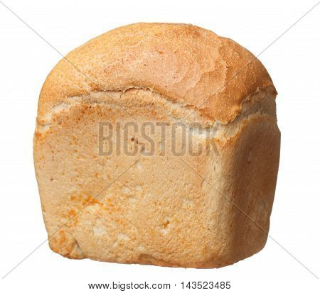 Delicious Fresh Warm Bread Isolated On White