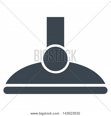 Shower Head icon. Vector style is flat iconic symbol, smooth blue color, white background.