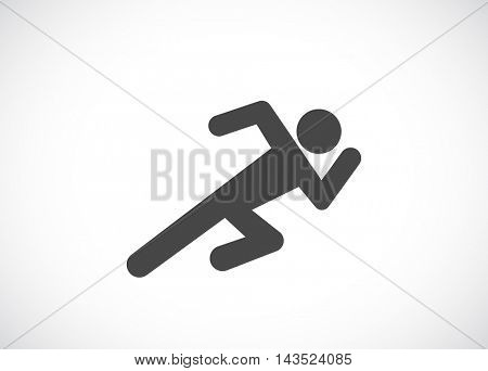 running man web icon