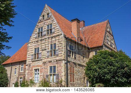 Merveldter hof historical mansion in the village of Horstmar Germany