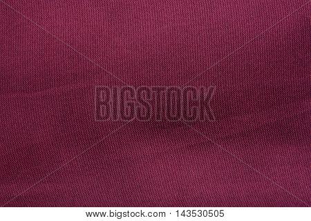 Red Dark Cloth Texture Background